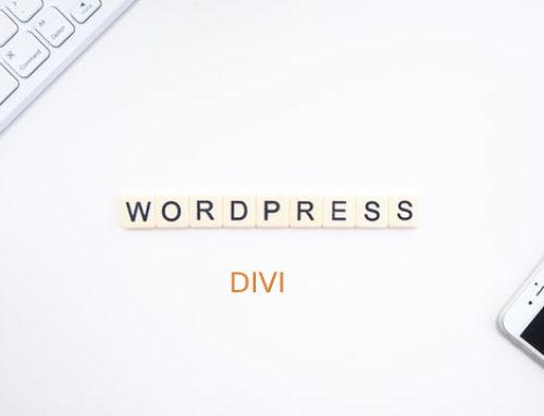 Divi fait passer WordPress à un tout autre niveau